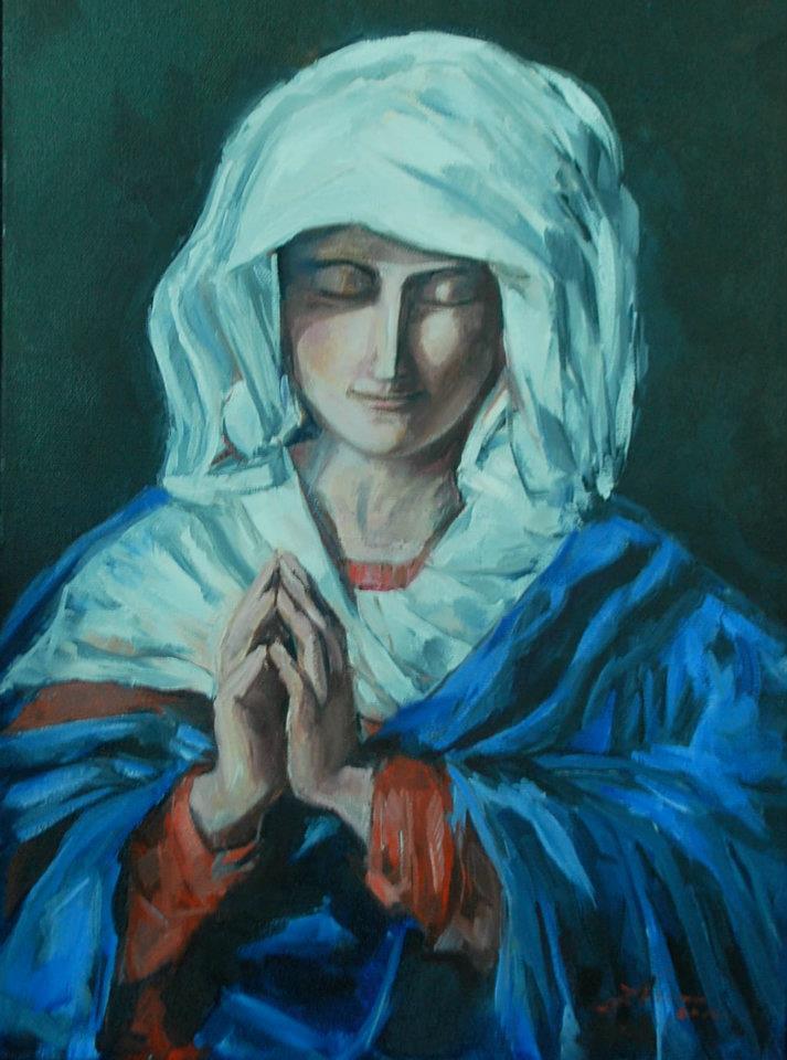 Virgen Orando